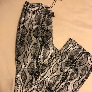 I.AM.GIA Pants - I.AM.GIA Brandy Pants/Greg Snake Skin BRAND NEW